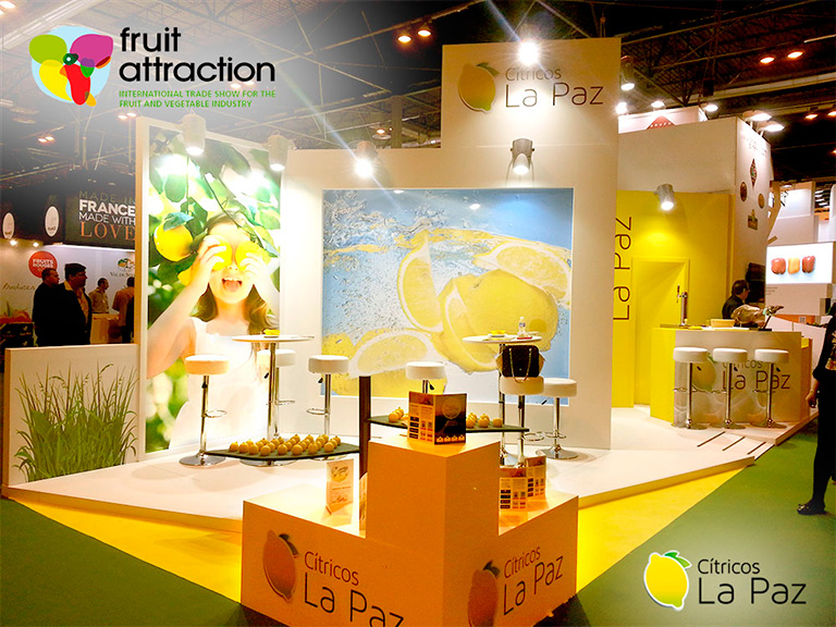 Cítricos La Paz asistirá a la Feria Internacional Fruit Attraction