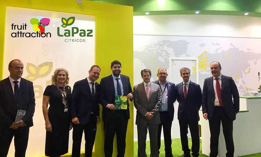 Cítricos La Paz Visita Fruit Attraction 2017