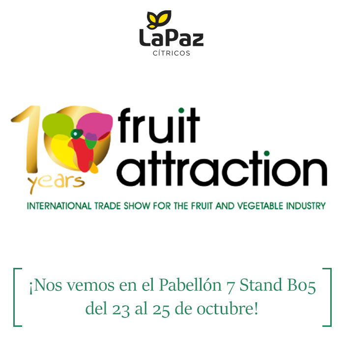 Cítricos La Paz Fruit Attraction 2018